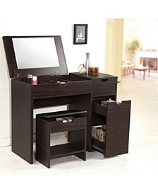 Wurth Vanity With Stool