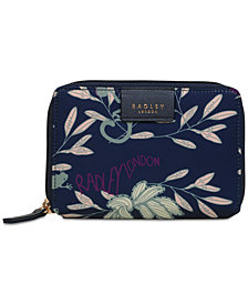 Radley London Longleat Palm Bi-fold Wallet
