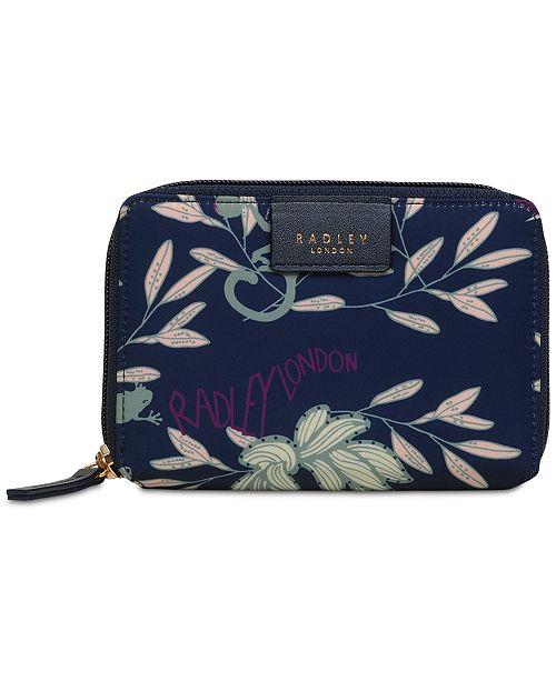 Radley London Longleat Palm Bi-fold Wallet