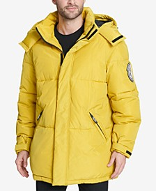 Men's Hooded Bubble Parka, Created for Macy's