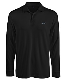Attack Life by Greg Norman Men's Long-Sleeve Polo, Created for Macy's