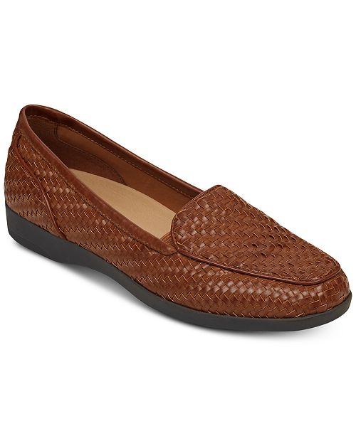 Easy Spirit Devitt Woven Loafers