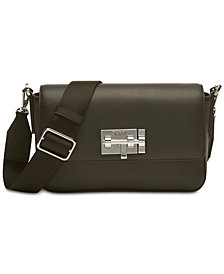 DKNY Elizabeth Mastrotto Leather Crossbody, Created for Macy's