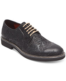 Tallia Men's Frederico Textured Oxfords