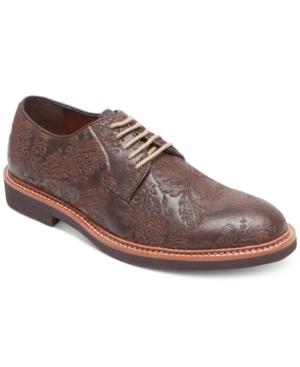 Tallia Men's Frederico Textured Oxfords Men's Shoes