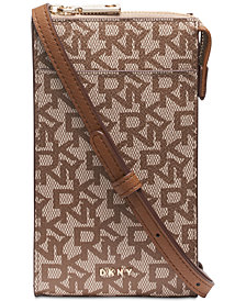 DKNY Bryant Signature Phone Crossbody, Created for Macy's