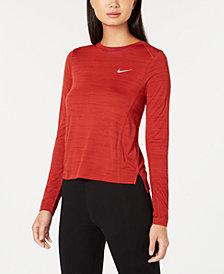Nike Miler Breathe Long-Sleeve Running Top