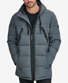 Marc New York Men's Crinkle Down Hooded Parka, Created for Macy's