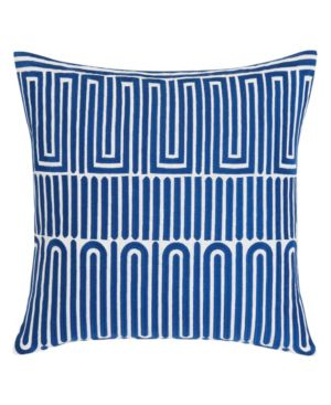 Trina Turk Racket Club Geo Aqua Square Pillow Bedding 6245787