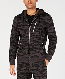 I.N.C. Men's Camouflage Hoodie, Created for Macy's