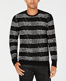 I.N.C. Men's Chunky Striped Sweater, Created for Macy's