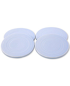 Thirstystone Misty Blue Ceramic Coasters, Set of 4