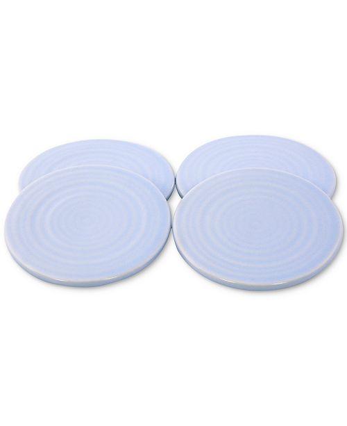Thirstystone CLOSEOUT! Misty Blue Ceramic Coasters, Set of 4