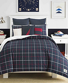 Nautica Tillington Comforter and Duvet Set Collection