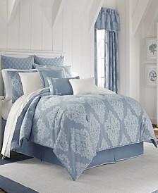 Piper & Wright Ansonia Blue Queen Comforter Set