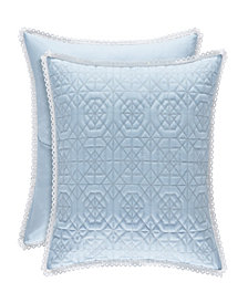 Piper & Wright Rosalie Blue Euro Sham