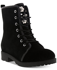Michael Kors Little & Big Girls Dahlia Pearl Boots