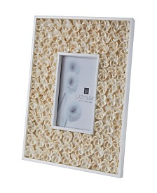 Natural Shell Picture Frame - Bud Pattern