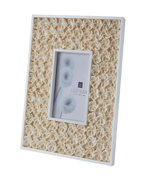 Dimond Home Natural Shell Picture Frame - Bud Pattern