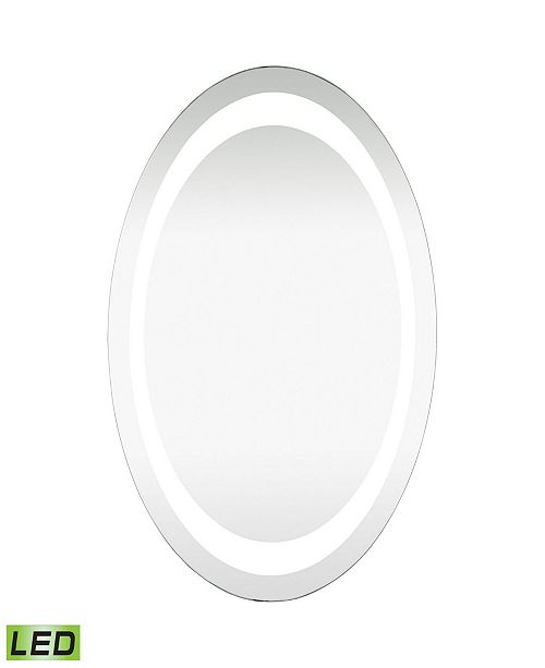 Dimond Home Oval Led Mirror