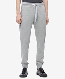 Men's Back Pocket Monogram Sweatpants,Created for Macy's
