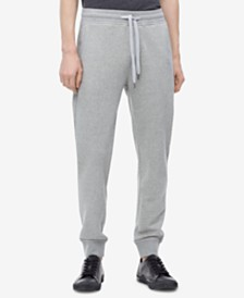 Calvin Klein Jeans Men's Back Pocket Monogram Sweatpants,Created for Macy's