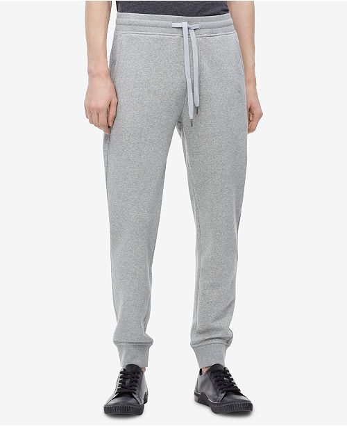 d185ee22 ... Calvin Klein Jeans Men's Back Pocket Monogram Sweatpants,Created for  Macy's ...