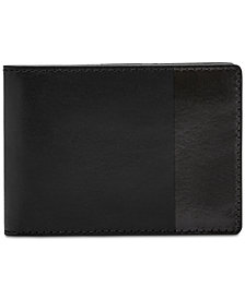 Fossil Men's Nev Leather Money-Clip Wallet