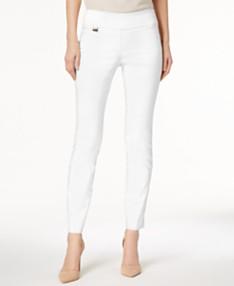 91951c58c Alfani Petite Tummy-Control Pull-On Skinny Pants, Created for Macy's