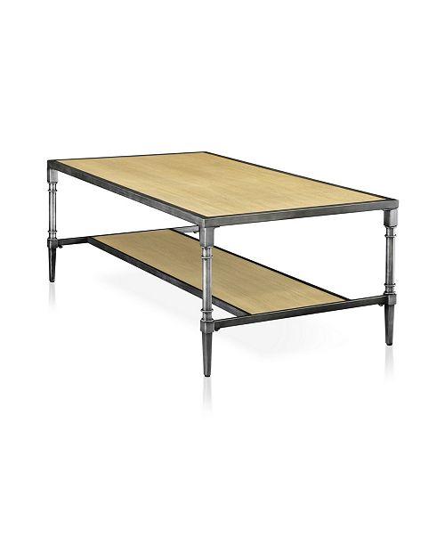 Furniture of America Temara Open Shelf Coffee Table