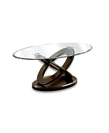 Darbunic Glass Top Coffee Table