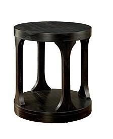 Arturo Antique Black End Table