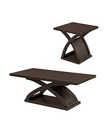 Porthos 2pc Table Set, Quick Ship