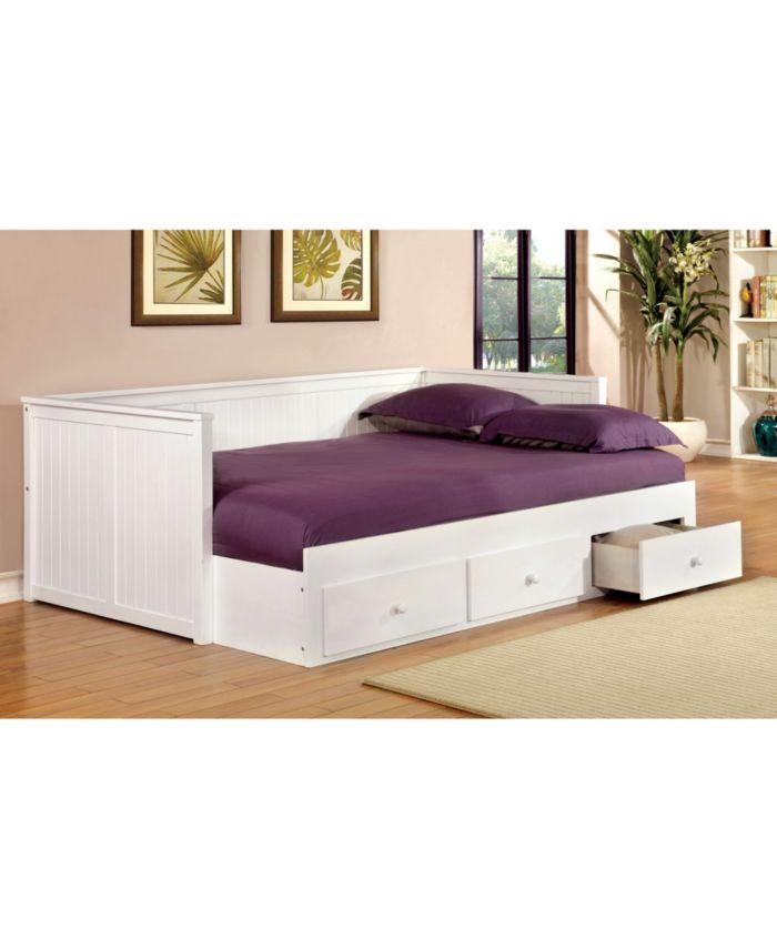 Furniture of America Aidan Full Daybed & Reviews - Furniture - Macy's