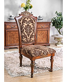 Eleanora Brown Cherry Side Chair (Set of 2)