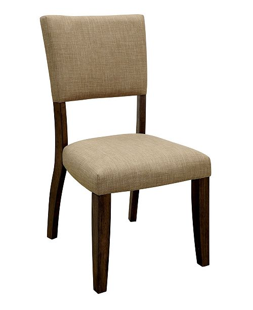 Furniture of America Norbu Side Chair (Set Of 2)
