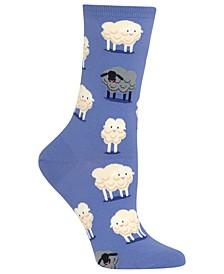 Women's Black Sheep Fashion Crew Socks