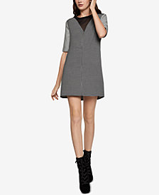 BCBGeneration Contrast A-Line Dress