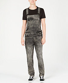 American Rag Men's Slim-Fit Overalls, Created for Macy's