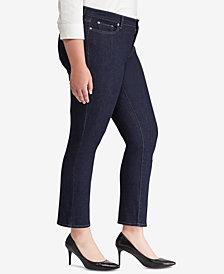 Lauren Ralph Lauren Plus Size Modern Straight Curvy Jeans