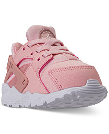 Nike Toddler Girls' Air Huarache Run SE Running Sneakers from Finish Line