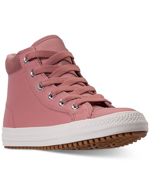bb120194e97a49 ... Converse Girls  Chuck Taylor All Star PC Boot Casual Sneakers from  Finish ...