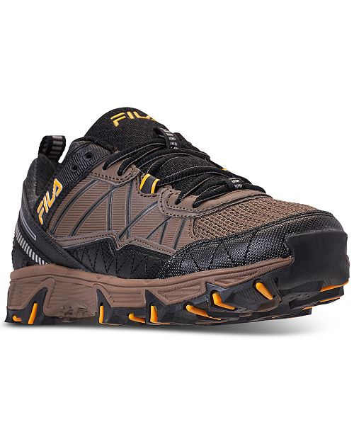 2d298e6d0226 Fila Men s At Peake 20 Running Sneakers from Finish Line   Reviews ...