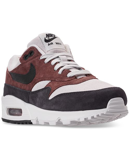 official photos 6536e 32621 ... Nike Women s Air Max 90 1 Casual Sneakers from Finish ...