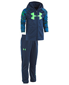 Under Armour Toddler Boys 2-Pc. Bedrock Camo Hoodie & Jogger Pants Set