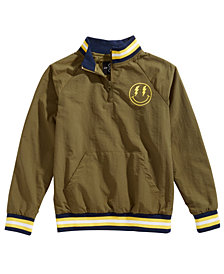 Jaywalker Big Boys Varsity Pullover Jacket