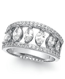 Charter Club Crystal Mini Marquise Ring, Created for Macy's