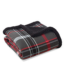 Eddie Bauer Winslow Dark Grey Throw