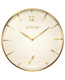 Gallery Gold-Tone Wall Clock