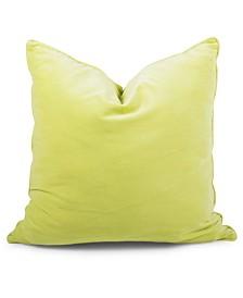 """Citron Velvet Pillow 20"""""""